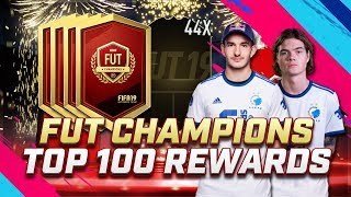 44 TOTW PLAYERS!!! FIFA19 FUT CHAMPIONS REWARDS WITH MARCUZO!!