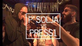 P SOLJA VS PRESS1 [On-Beat Title Match] | Don't Flop Rap Battle