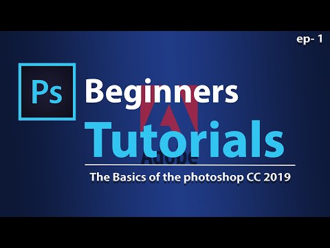 Adobe photoshop tutorial for the beginners Episode 1 thumbnail