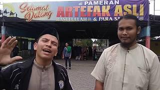 Doktoro Esperanto EL Aceh Mempromosikan Pameran Artefak Asli Peninggalan Rasullullah Saw Di Medan