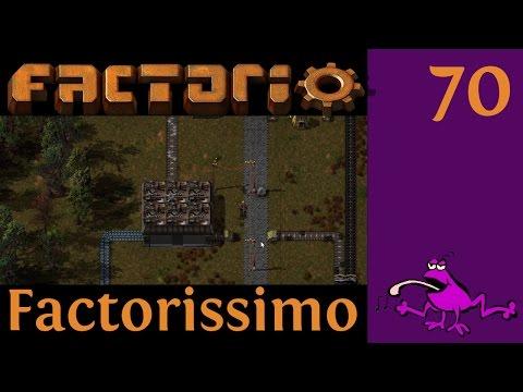 Let's Play Factorio Factorissimo Ep #70, concrete solutions