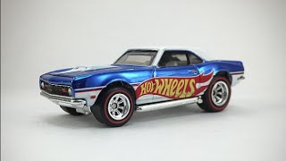 Hot Wheels RLC 68 Copo Camaro Review!