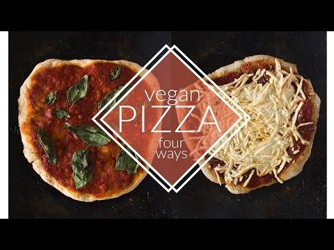 Vegan Pizza Four Ways