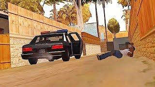 A donde va el auto de Tenpenny al inicio del juego en GTA San Andreas