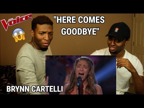 "The Voice 2018 Knockout - Brynn Cartelli: ""Here Comes Goodbye"" (REACTION)"