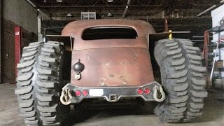 Rat Rod 4x4 build
