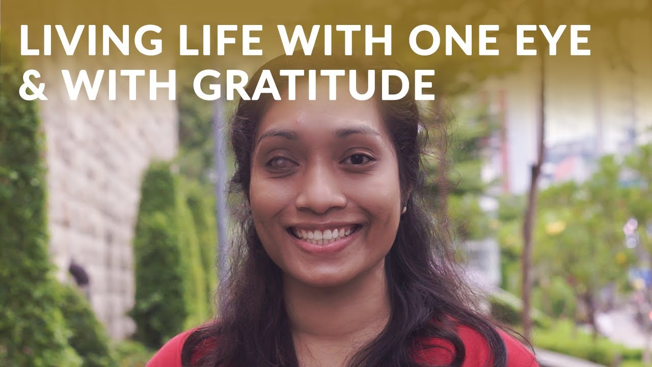 Living Life with One Eye & Overcoming the Struggles With Gratitude - Dian #AsianWomenRealStories