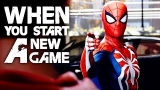 Video Spider-Man: 10 Things To Know When Starting A New Game download MP3, 3GP, MP4, WEBM, AVI, FLV September 2018