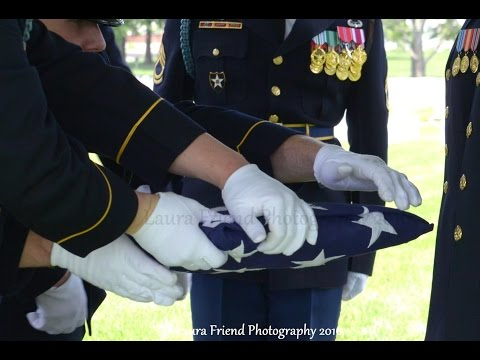 SFC DONALD DICK US Army - Arlington National Cemetery Funeral 2016
