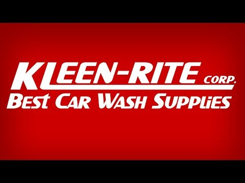 Get The Best Car Wash Supplies From Kleen-Rite Corp!