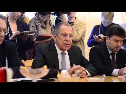 UN Special Envoy for Syria Staffan de Mistura in Moscow