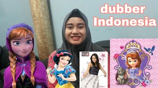 Dubbernya Anna di Frozen, Princess Sofia-Sofia the first, SNOW WHITE, Fuly-Lion Guard dll