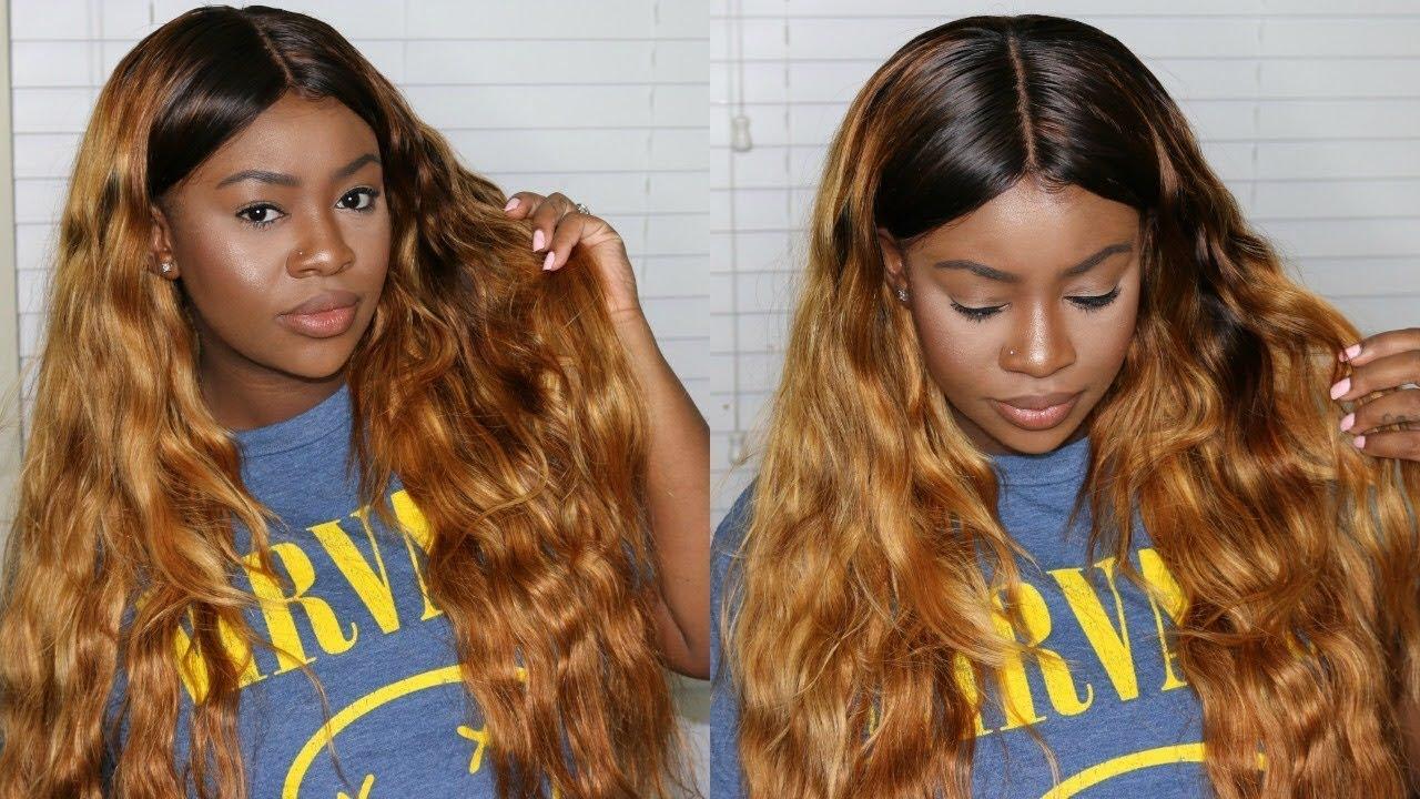 Honey Blonde For Summer West Kiss Hair Youtube