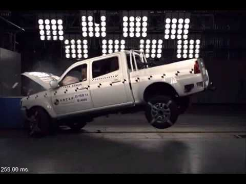 ANCAP - Tata Xenon from 2013 - 2 star ANCAP safety rating in frontal offset crash test