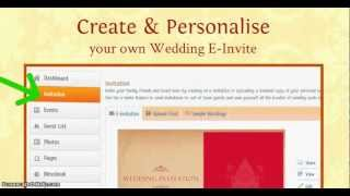 Get started with your wedding website - MyShaadi.in