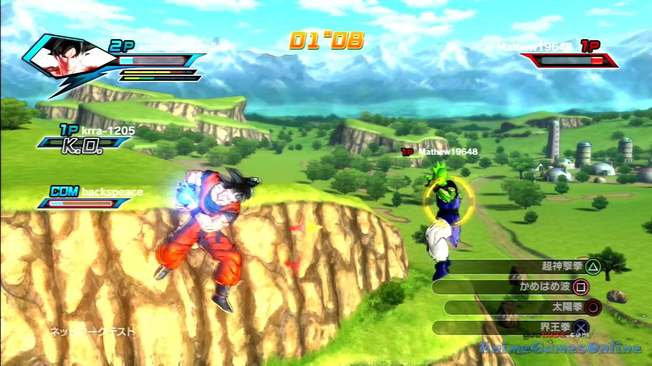 Dragon Ball Xenoverse 3 Vs 3 Online Gameplay Beta Youtube