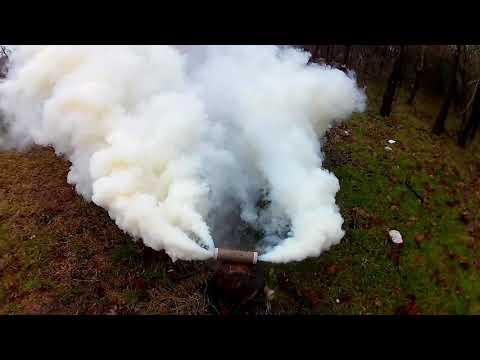 опасность дымовых шашек