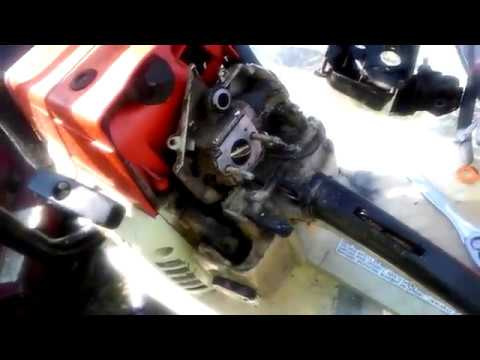 Stihl MS 361 Carburetor removal