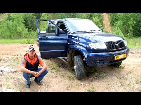 Uaz Patriot Pickup. Мини-тест
