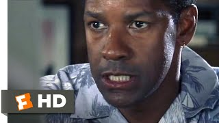 Out Of Time (2003) - Fax Tampering Scene (6/11) | Movieclips