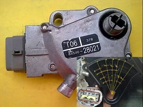 Satety Switch explained 84540-28021 [Tarago Previa TCR 1992]