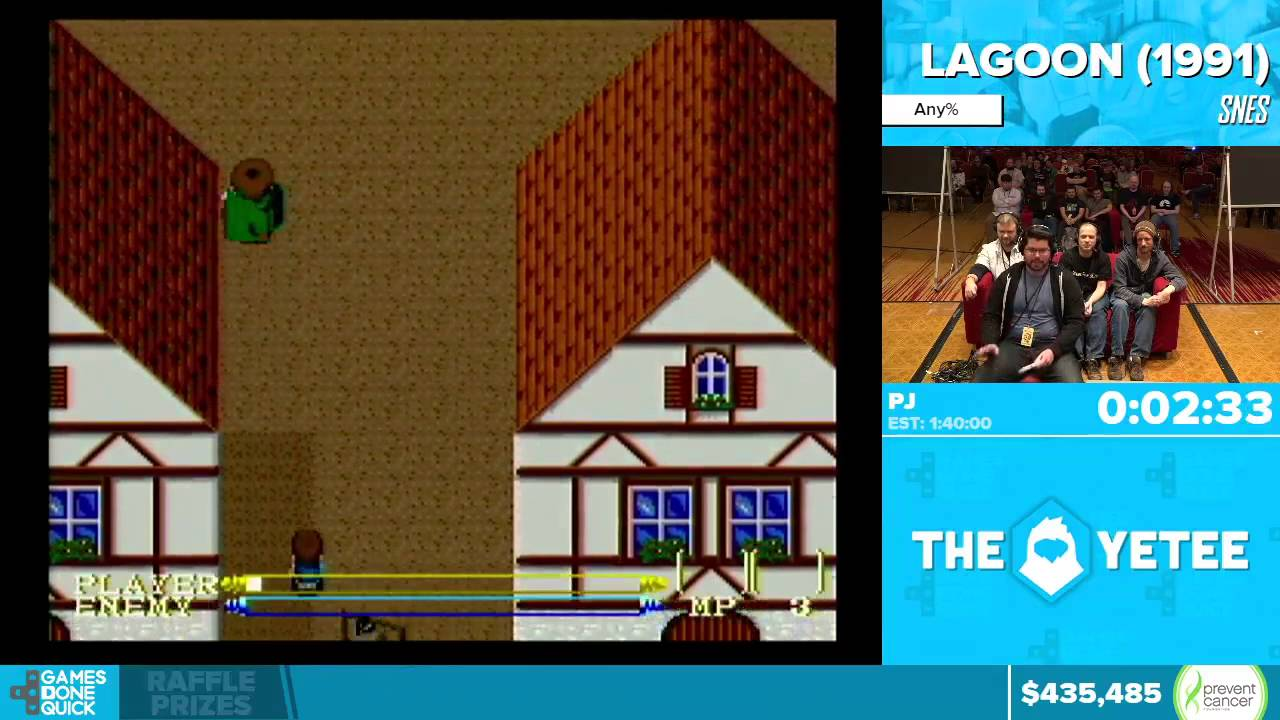 Download Lagoon by PJ in 1:29:09 - Awesome Games Done Quick 2016 - Part 89