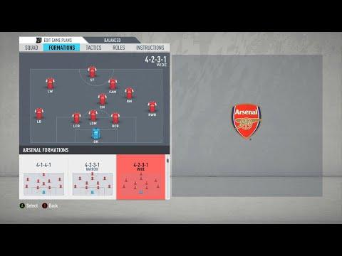 [FIFA 20] Wengerball Tactics (Arsenal's Passing Play Tactics) / 피파 20 벵거볼 전술 / 아스날 전술