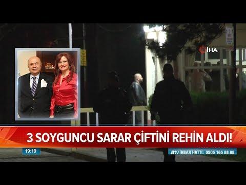 3 soyguncu Sarar çiftini rehin aldı! - Atv Haber 19 Mayıs 2019