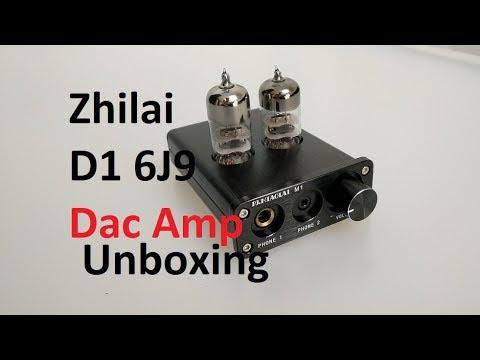 Zhilai D1 6J9 PCM2704 Dac amplificador Unboxing