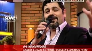 Carlos Cruzat se transforma en Leonardo Favio: Sin Dios Ni Late // Zona Latina