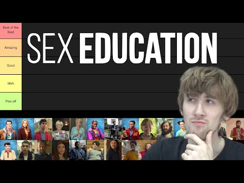 Sex Education Characters Ranked (Tier List)