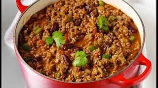 CHILI CON CARNE - receta tex-mex