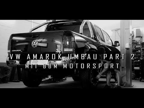 BBM Motorsport schraubt mir die geilsten Delta 4x4 Felgen an den VW Amarok!