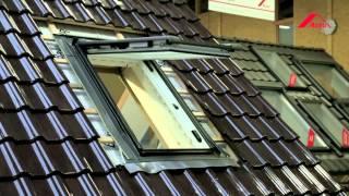 Montáž střešního okna Roto