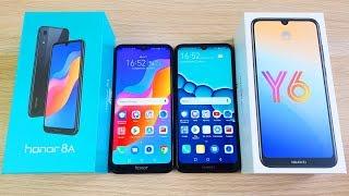 Honor 8A vs Huawei Y6 2019 - ЧТО ЛУЧШЕ? ВСЯ РАЗНИЦА МЕЖДУ ТЕЛЕФОНАМИ