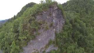 Camping Bled am Bleder See Dji F450 GoPro 3 BE