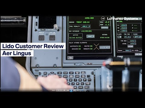 Lido Customer Review  Aer Lingus  / Lufthansa Systems