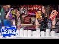 Annie & Hayley LeBlanc Do the Hot Chip Challenge on Taste That Ish!