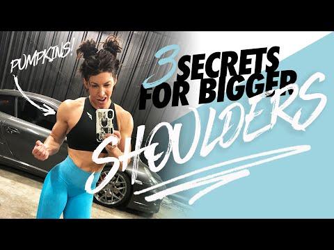 3 SECRETS FOR BIGGER SHOULDERS (Don't Make This Mistake)