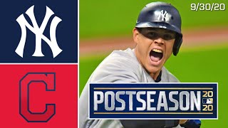 New York Yankees @ Cleveland Indians | Game Highlights | ALWC Game Two