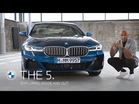 Exploring the new BMW 5 Series, inside and out.