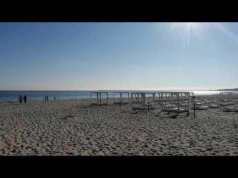 #Świnoujście - Poranek na plaży - 10 czerwca 2021