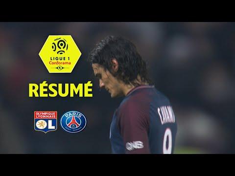 Olympique Lyonnais - Paris Saint-Germain (2-1)  - Résumé - (OL - PARIS) / 2017-18