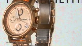 Womens GoldTone Watches  Fossil