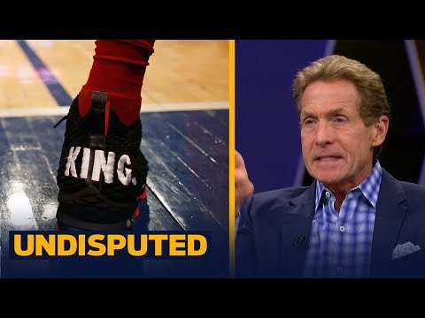 Skip and Shannon react to LeBron wearing 'I'm King' shoes in win against the NY Knicks | UNDISPUTED