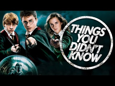 7 Things You (Probably) Didn't Know About Harry Potter!
