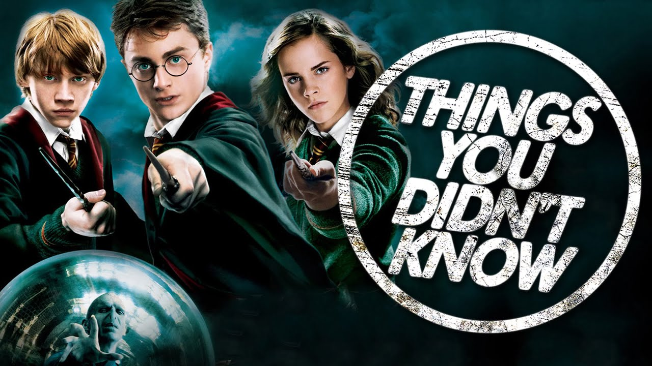 7 Things You (Probably) Didn't Know About Harry Potter ...