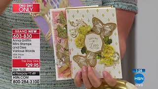HSN | Anna Griffin Elegant Paper Crafting 05.02.2018 - 05 PM