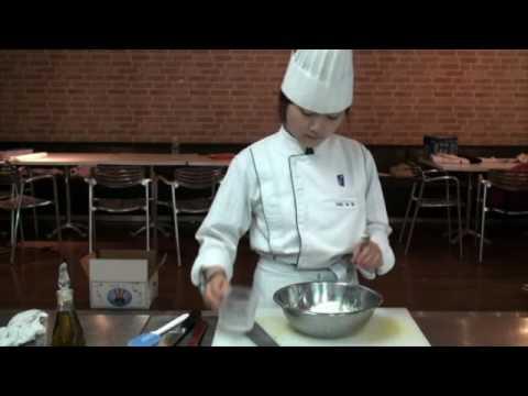 Korean Food : Pumkin Porridge -- Jeonju University, Foodservice department