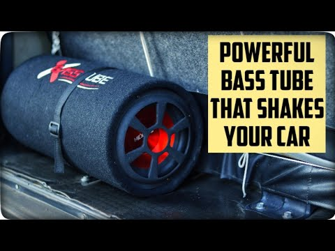 This Bass Tube Will Shake Your Car